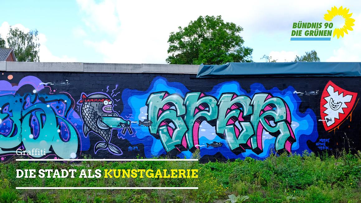 Streetart Kiel – Die Stadt als Kunstgalerie