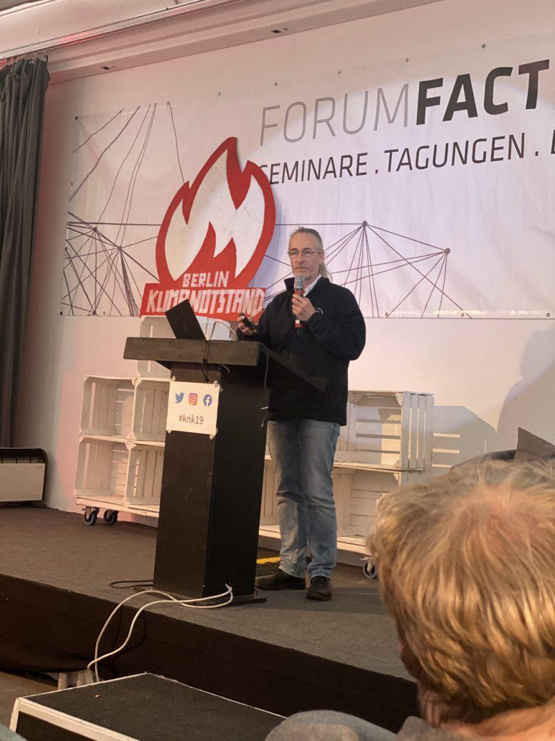 Klimanotstand Kongress Christoph Schneider