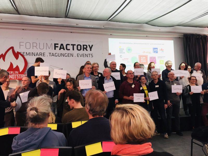 Klimanotstand Kongress Berlin