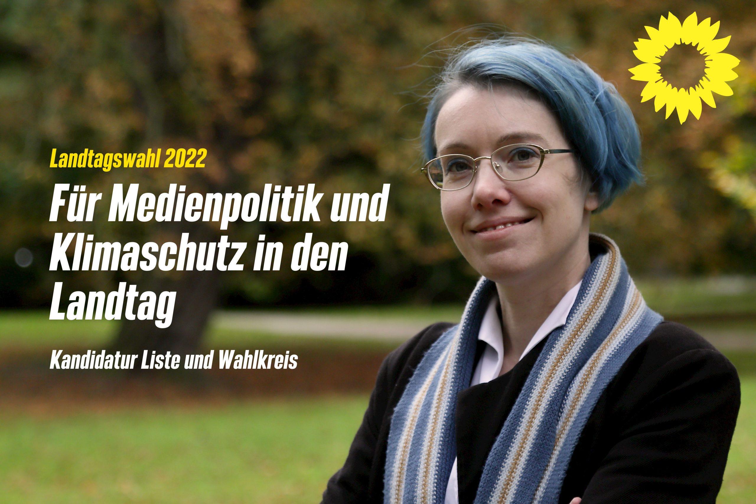 Landtagswahl SH 2022 – Ich kandidiere um einen Platz auf der Liste und für einen Wahlkreis